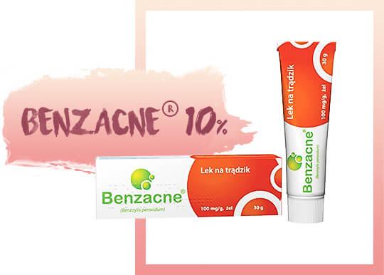 benzacne produkt czerwony