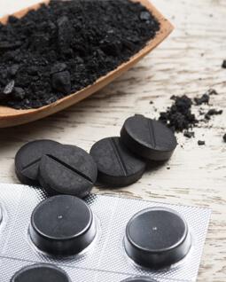 zdjęcie aktywny węgiel