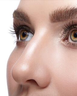 zdjęcie kobiecego nosa