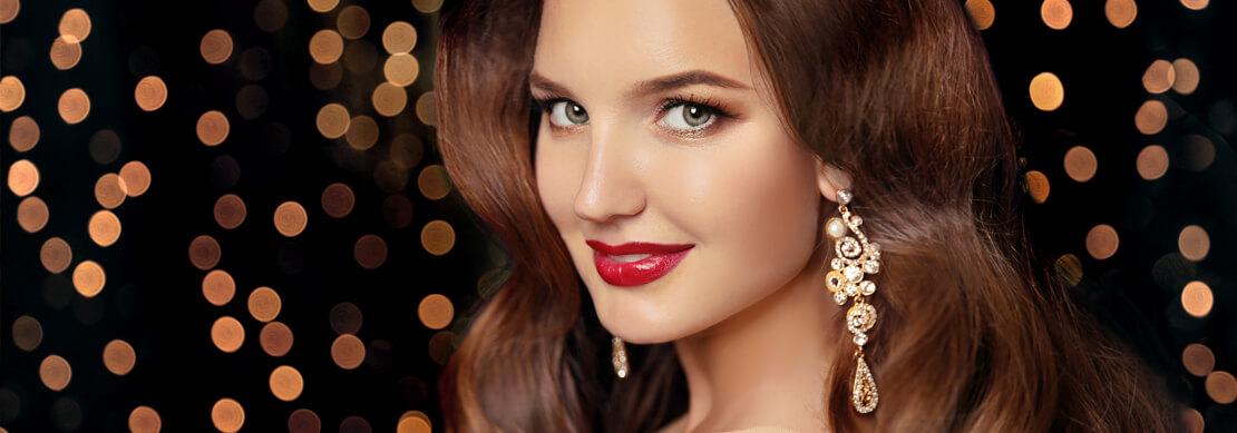 zdjęcie kobiety w makijażu